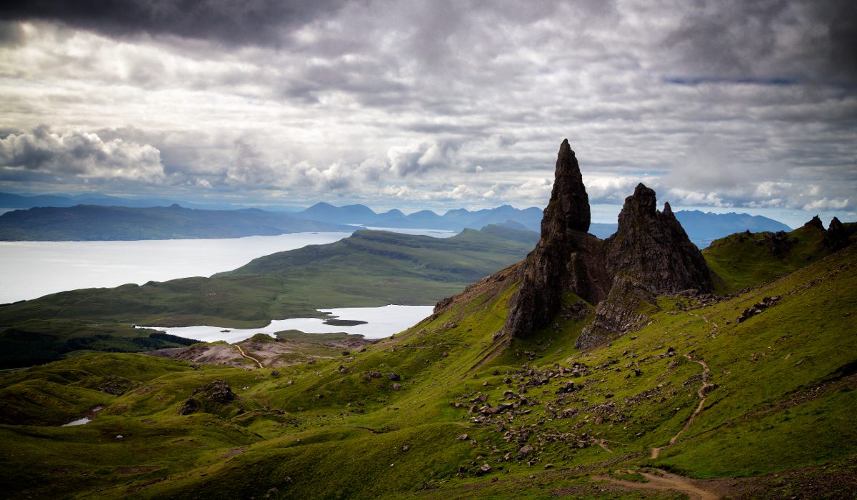 Schottland – Isle Of Skye – Old Man Of Storr