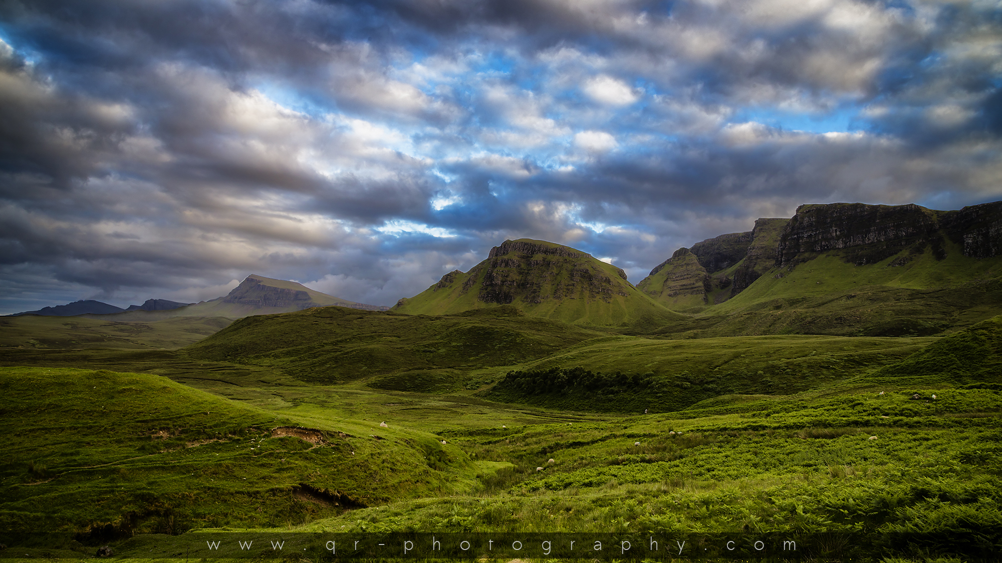 schottland isle of skye the quiraing q r photography. Black Bedroom Furniture Sets. Home Design Ideas