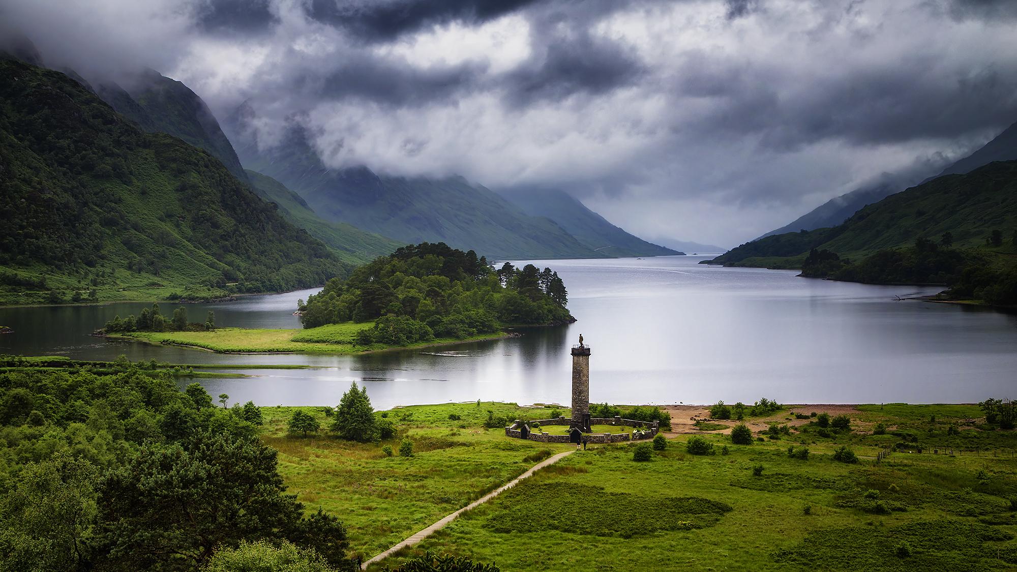 Schottland – Glenfinnan Monument