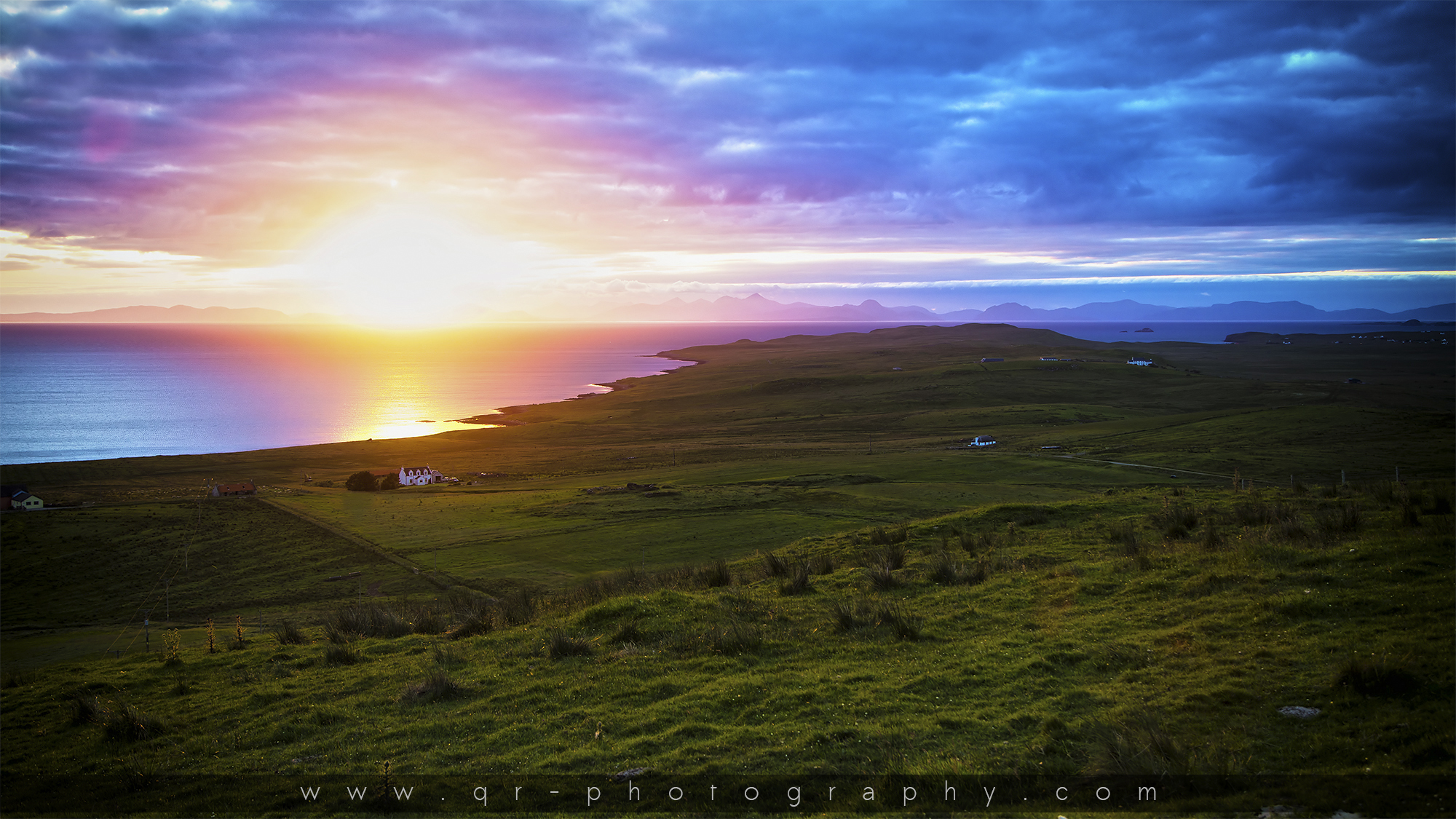 Schottland – Isle of Skye – Sunset