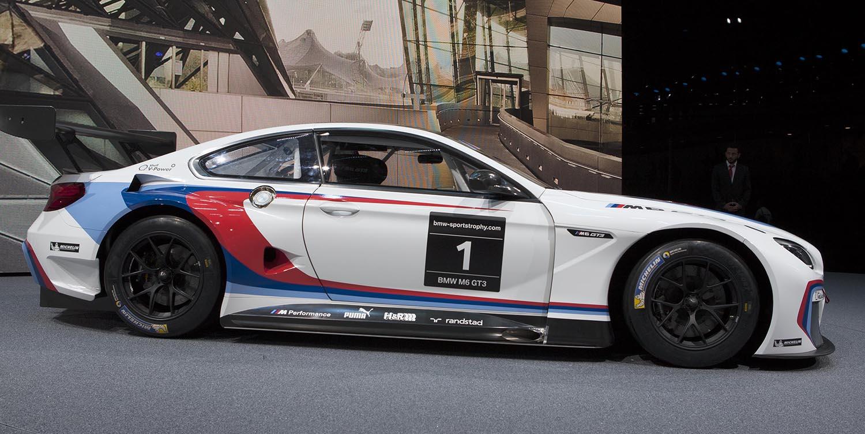 BMW M6 GT3 – IAA 2015 Präsentation