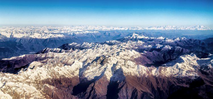 Alpen – Vogelperspektive