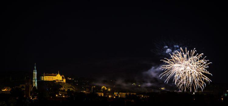 Feuerwerk Landshut